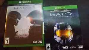 Halo 5 and masterchief collection