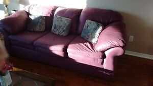 400 $ COUCHES JUST LIKE BRAND NEW - FREE DELIVERY