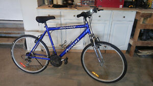Mountain Bike with 2 set of tires (road or rough)