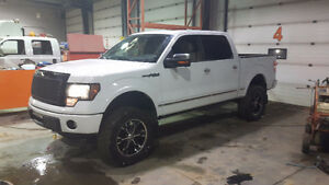 2009 Ford F-150 Platinum Edition Lifted Trade for Dirtbike