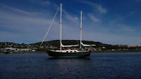 Sailboat  ketch 36 pieds,