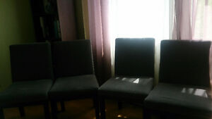 4 new chairs for sale