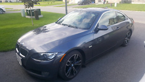 2007 bmw 328xi coupe low km sport package