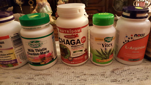 Chaga plus other high grade suppliments