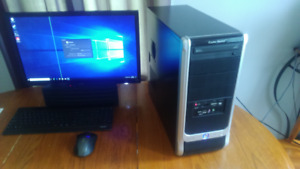 unlocked Intel quad core high settings gaming pc mint condition