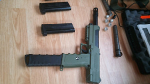 Tippman Tipx + other paintball gear