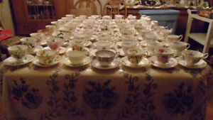 Household Cup and Saucers, Aynsley, Paragon, Adderley, Royal Alb