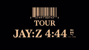 JAY-Z 4:44 Tour December 11th @ Rogers Arena - 4 SEATS IN A ROW!