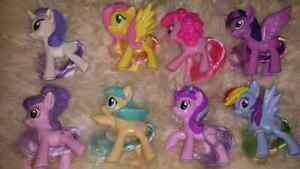 Set of 8 MLP Happy Meal Toys