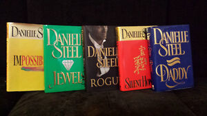 $4.00 per book - 5 Danielle Steel Hardcover Novels