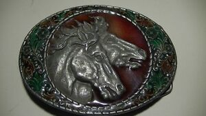 1981 Metal Craft Enameled & Pewter Buckle  (VIEW OTHER ADS) Kitchener / Waterloo Kitchener Area image 5