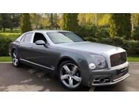2017 Bentley Mulsanne Speed 6.8 V8 Speed 4dr Auto Automatic Petrol Saloon