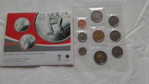 Vancouver 2010 Olympic Winter Games 2009 Sp Ed Unc Coin Set
