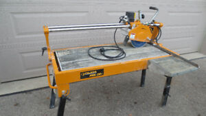 WET TILE  SAW  FOR RENT