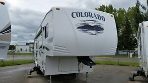 2007 COLORADO 29BH 5th WHEEL SINGLE SLIDE