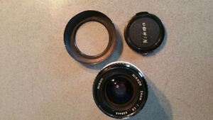 Nikon AI Manual focus lenses 50mm f1.4 and 24mm f2.8 $270 OBO