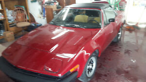 1980 TRIUMPH TR7 CONVERTIBLE RARE COLLECTABLE London Ontario image 3