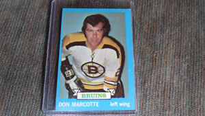 Don Marcotte 1973-74 Topps NHL card