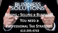 BUYING/SELLING a BUSINESS-AFFORDABLE PROFESSIONAL TAX-ACCOUNTING