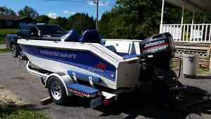 1997 Prince craft with 115 evenrude with trailer  Peterborough Peterborough Area image 3