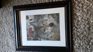 Keen Eyes wolf print Filipchuk limited edition