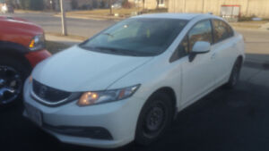 2012 Honda civic LX manual transmission 187000km
