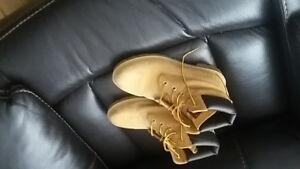 Boys timberland boots  beige
