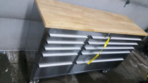 Stainless steel tool box (new)