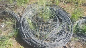 Fencing wire rolls