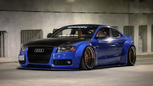 Liberty walk Audi s5 show car