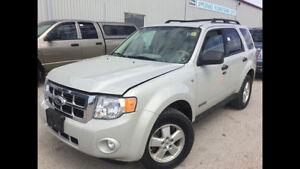 2008 Ford Escape XLT SUV, Crossover,V6 AWD,Leather,Safety,Clean