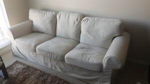 EKTORP fabric sofa from IKEA - $175 (Surrey)