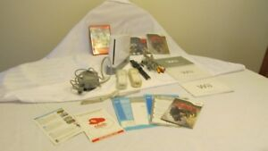 Nintendo Wii Game System and 3 Games plus Accessories