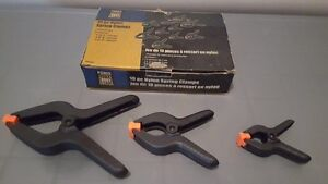 Assorted Spring Clamps For Sale
