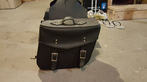 Never used Saddle Bags