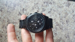 ALL BLACK ARMANI EXCHANGE WATCH FOR SALE