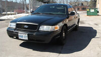 2008 Ford Crown Victoria police interceptor Sedan cert and e tes
