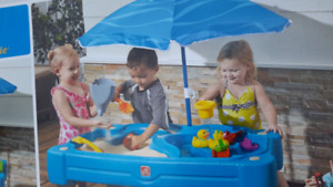 Sand & water exploration table