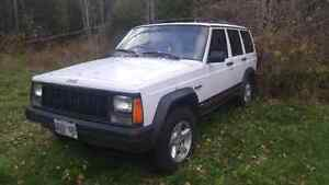 1996 Jeep Cherokee 4WD White 279000km Running As Is