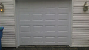 Porte de garage 8' x 7' ,Isolée R-17,NEUVE ET INSTALLER