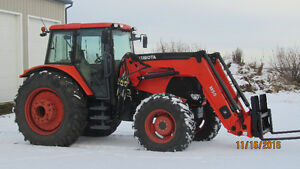 M135X Kubota for sale Strathcona County Edmonton Area image 1