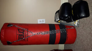 Everlast Punching with Gloves 100 obo