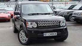 2010 LAND ROVER DISCOVERY 4 TDV6 HSE GREAT VALUE 2 OWNER FSH BOURNVILLE MET