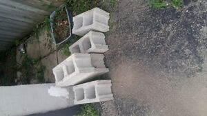 Cinder blocks free for pick up what you see is what i got