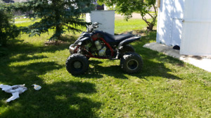 08 raptor 700 trade for car or suv