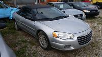 2006 Chrysler Sebring Convertable **LOW KM**