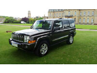 SOLD LHD 2006 Jeep Commander 3.0CRD V6,7 SEATER, 4X4, LEFT HAND DRIVE