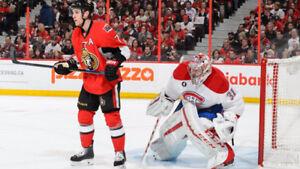 Looking for Canadiens Senators Tickets Superbowl Sunday