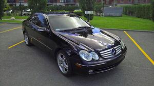 Mercedes-Benz CLK 320 Black 2005