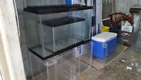 Selling great shape aquariums (some brand new)